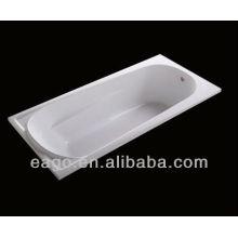 EAGO Simple intégré en acrylique Baignoire K1700