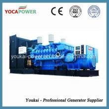 Ce genehmigt! Mtu Motor 2000kw / 2500kVA Elektrischer Generator