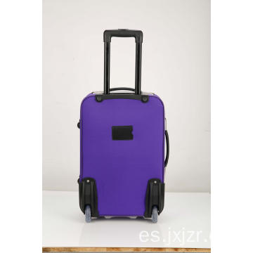 Softsided Rolling Purple Equipaje