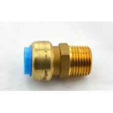 Rohr passend Messing Push Armaturen Außengewinde PF X M 1 2 Zoll