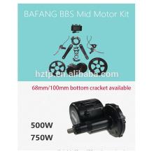 bafang ebike kit 48V 750W bbs02 bafang fahrrad motor kit mit batterie