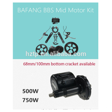 бафане электровелосипедов комплект 48 В 750 Вт bbs02 бафане мотор велосипеда комплект с аккумулятором