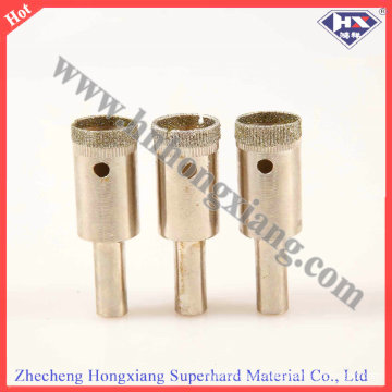 High Quality Diamond Coated Drill Bit / 1.5- 150 Electroplate Diamond Drill Bit for Glass