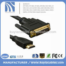 2M GOLD HDMI TO DVI CABLE 1080p