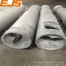 barril e rosca bimetálico de máquina de extrusão de plástico