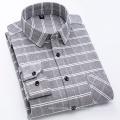 100% Baumwolle Flanell Herrenhemd