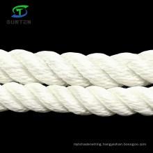 3 Strand White Polyester/Nylon/PA/Plastic/Sythetic/Marine/Mooring/Packing/Lifting/Twist/Twisted Cargo Rope