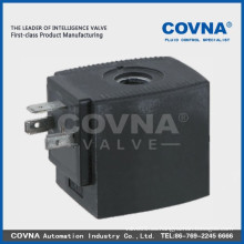 S61B1 Bobina de electroválvula de plástico, 12V Bobina de solenoide, piezas de electroválvula en bobina de válvula