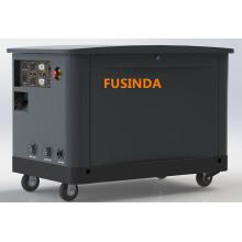 Fusinda 16kw / 15kw / 17kw Tri Fuel (LPG / NG / Gasoline) Générateur de type Silent Type Standby