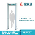 3 Kinds IR Mode High Precision Metal Detector Gate with 18 Zones