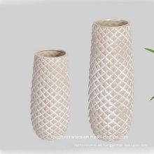 Venta caliente decoración del hogar jarrón de cerámica