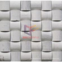 Wood Pattern Marble Mosaic (CFS898)