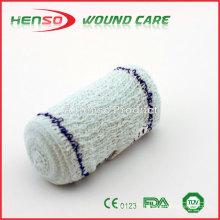 HENSO High Quality Blue Thread Elastic Crepe Bandage