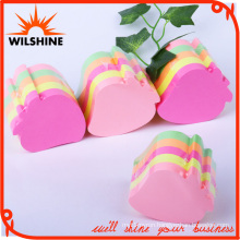 Custom Strawberry Fruit Shaped Sticky Note Cube for Office or School Use (SN007)