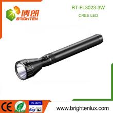 Factory Wholesale Aluminum Handheld 3SC Batterie Opérationnelle Super Bright Led Cree Police Torch Light