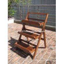 Твердой древесины на открытом воздухе / сад комплекта мебели - Цветочный горшок