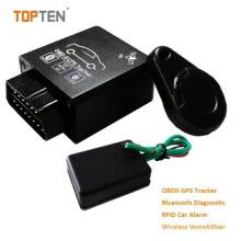 GPS OBD Tracker mit 2.4G Anwesenheitsmanagement, Obdii Schnittstelle zum Lesen von Daten aus dem Auto Tk228-Ez
