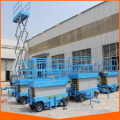 electric mini scissor lift with Max platform height 4-18meters