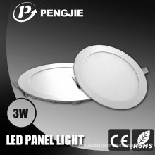 Best Price 3W LED Panel Light with CE (Round)