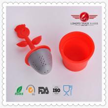 Novo Design Popular Único Infusor de Chá de Silicone