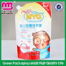design personalizado logotipo impressão detergente líquido detergente embalagem