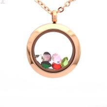 Gros nouveau design fantaisie fiole verre médaillon pendentifs bijoux