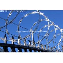 Hot-DIP Galvanisé Concertina Razor Barbed Wire (HPZS6008)