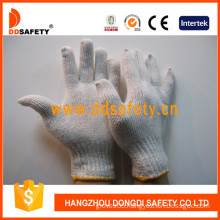 Ddsefety String Knitted Cotton Gloves with En388, CE (DCK701)