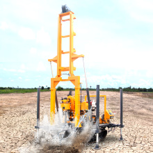 Portable soil testing drill drilling rigs diesel engine crawler water well drilling rig for sale