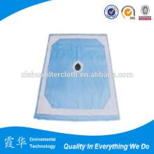 Tissu filtre 200 microns pour filtre presse
