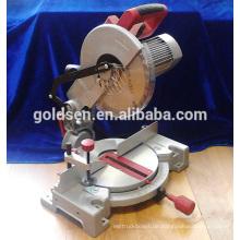 """Low Life 255mm 10 """"Induktionsmotor Elektrische Leistung Aluminium Holz Schneiden Cut Off Werkzeugmaschinen Silent Gehrungssäge"""
