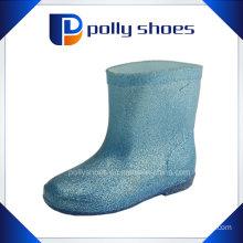 Cute Kids PVC Rain Boot Water Proof Shoes