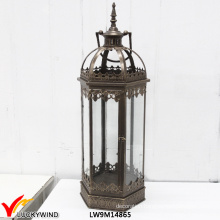 Moroccan Style Glass Metal Candle Lanterns Manufacturers