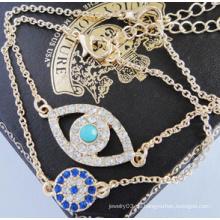 Volles Diamant-Armband des bösen Blicks (XBL13499)