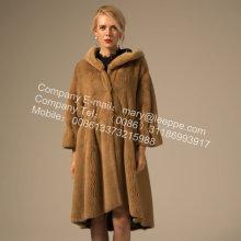 Fashion Kopenhagen Mink Fur Reversible Overcoat