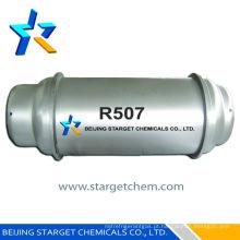 Refrigerante misturado de grau alimentar R507a Y