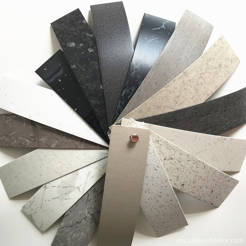PVC or ABS Stone Color Edge Banding Series