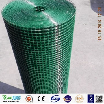plastic coated green fencing wire fencing