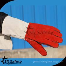SRSAFETY лучшие кожаные перчатки из коровьей кожи в Китае