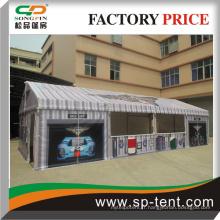 Tente de fête de petite taille de 5x30m avec rideaux