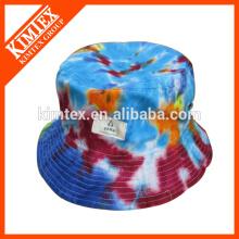 La aduana barata al por mayor impresa el sombrero adulto del cubo de la manera