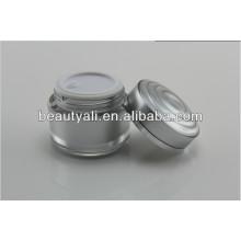 15ml 30ml 50ml Empaquetado cosmético de lujo Tarro de acrílico