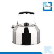 1.0L Chaleira de água de aço inoxidável e Chaleira de água ao ar livre com Handle portátil