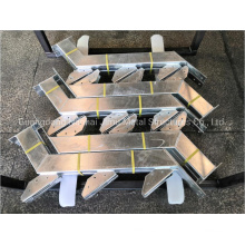 Hot DIP Galvanized Stair Tread Stringer Outdoor Stairway Steel Stringer