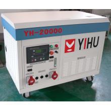 Générateur d'essence silencieuse de 15 Kw / Générateur d'essence 15 kVA (TG18000LDE)