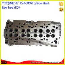 11040-Eb300 11040-Eb30A 11039-Ec00A Yd25 Головка блока цилиндров для Nissan