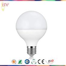 G95 PC 18W LED usine ampoule mondiale avec la lumière du jour en gros E14 / E27