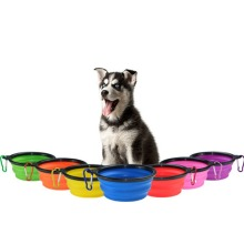 Pet Bowl zusammenklappbare, nicht verschüttete Hundenapf