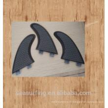 vente en gros de haute qualité en plastique G5 surf ailettes / wakeboard