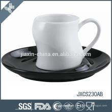 100CC porcelana xícara de café e Pires, copo colorido e Pires